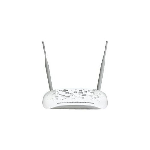 TP-Link TD-W9970 - Wireless router - DSL modem - 4-port switch - 802.11b/g/n - 2.4 GHz