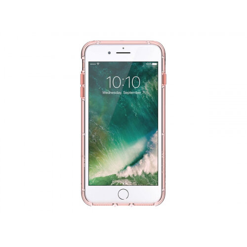 Griffin Survivor Clear - Back cover for mobile phone - polycarbonate, thermoplastic polyurethane - rose gold - for Apple iPhone 6 Plus, 6s Plus, 7 Plus