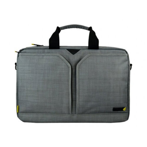 "Tech air EVO Laptop Shoulder Bag - Notebook carrying case - Laptop Bag - 15.6"" - grey texturised"