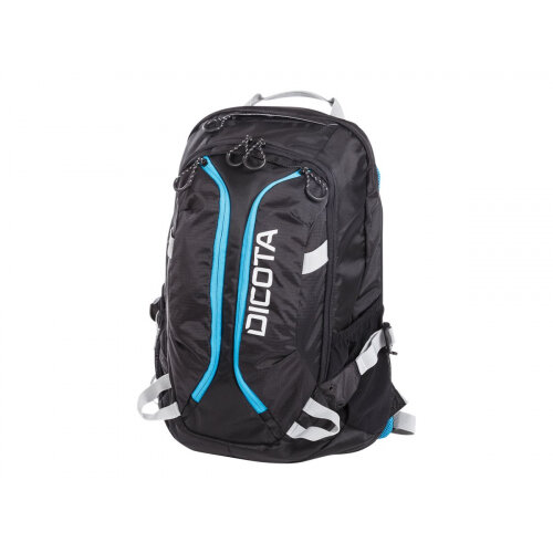 "Dicota Active Laptop Bag 15.6"" - Notebook carrying backpack - 15.6"" - black, blue"