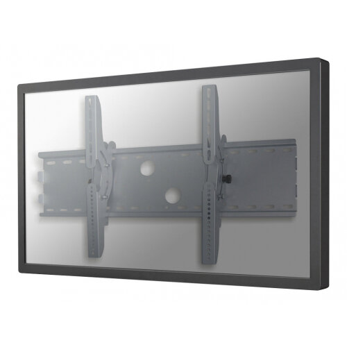"NewStar TV/Monitor Wall Mount (tiltable) for 37""-85"" Screen - Silver - Wall mount for LCD / plasma panel - silver - screen size: 37""-85"""