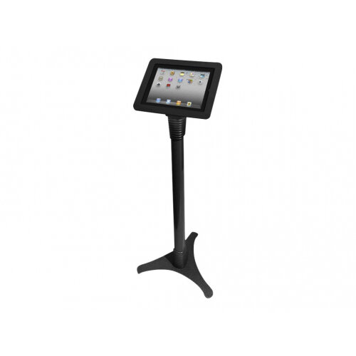 "Compulocks Executive Adjustable - iPad 9.7"" Floor Stand - Black - Stand for tablet - metal, aluminium, cast iron - black - floor-standing - for Apple 9.7-inch iPad Pro; iPad; iPad 1; 2; iPad Air; iPad Air 2; iPad with Retina display"