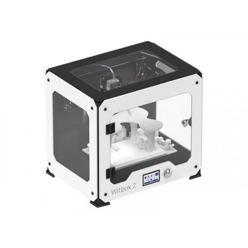 bq Witbox 2 - 3D printer - FDM - build size up to 297 x 210 x 200 mm - layer: 50 µm - USB - white