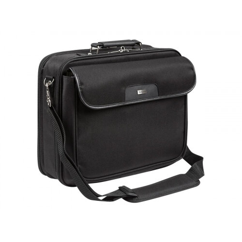 "Targus 15.4 - 16 inch / 39.1 - 40.6cm Notepac Plus Case - Notebook carrying case - Laptop Bag - 16"" - black"