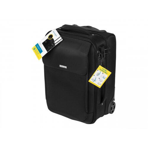 "Kensington SecureTrek - Notebook carrying case - 17"" - black"