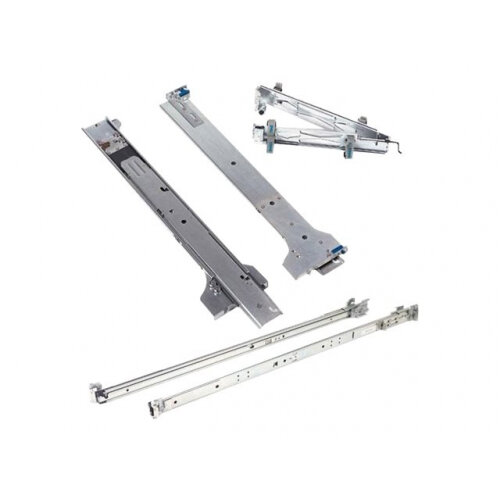 Dell 2/4-Post Static Rack Rails for 1U and 2U systems - Rack rail kit - for PowerEdge R220, R230