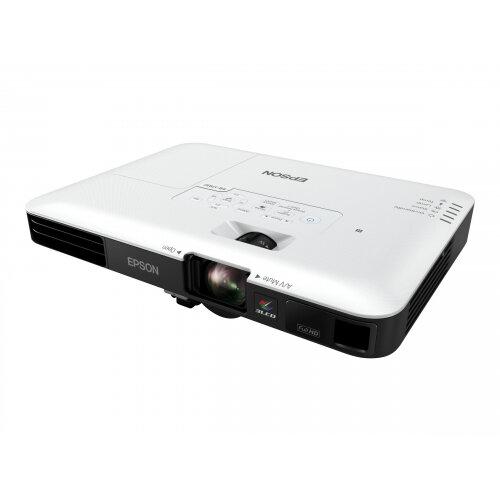 Epson EB-1795F - 3LCD Multimedia Projector - portable - 3200 lumens (white) - 3200 lumens (colour) - Full HD (1920 x 1080) - 16:9 - 1080p - 802.11n wireless / NFC / Miracast