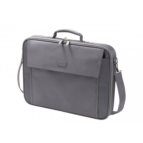 "DICOTA Multi BASE Laptop Bag 17.3"" - Notebook carrying case - 17.3"" - grey"