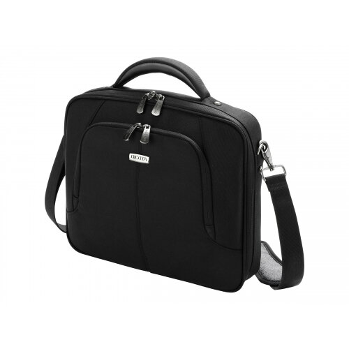 "Dicota MultiCompact Laptop Bag 15.6"" - Notebook carrying case - 15.6"" - black"