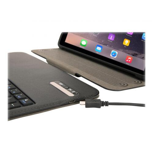 Griffin Snapbook w Keyboard - Keyboard and folio case - Bluetooth - for Apple 9.7-inch iPad (5th generation); 9.7-inch iPad Pro; iPad Air; iPad Air 2