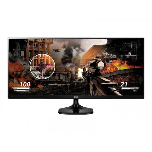 "LG 25UM58-P - LED Computer Monitor - 25"" - 2560 x 1080 - IPS - 250 cd/m² - 1000:1 - 5 ms - 2xHDMI"
