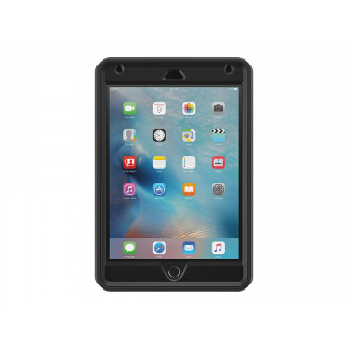 OtterBox Defender Series - Protective case for tablet - rugged - polycarbonate, synthetic rubber - black - for Apple iPad mini 4