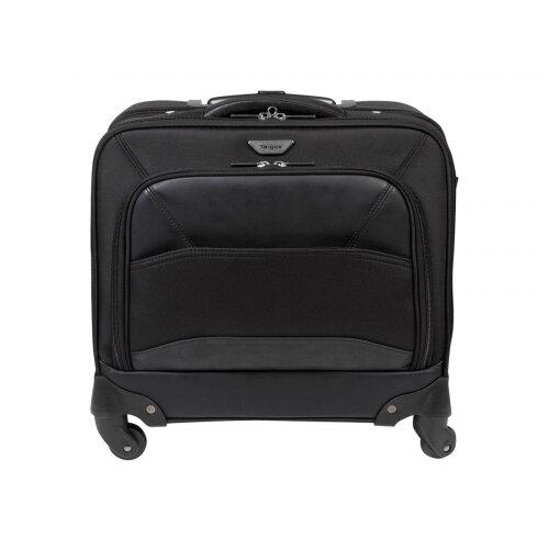 "Targus Mobile VIP Roller Bag - Notebook carrying backpack/trolley - 15.6"" - black"