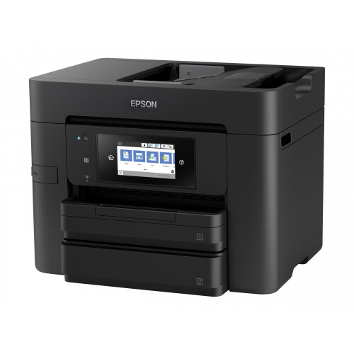 Epson WorkForce Pro WF-4740DTWF - Multifunction printer - colour - ink-jet - A4 (210 x 297 mm) (original) - A4/Legal (media) - up to 34 ppm (printing) - 500 sheets - 33.6 Kbps - USB 2.0, Gigabit LAN, Wi-Fi(n), USB host, NFC