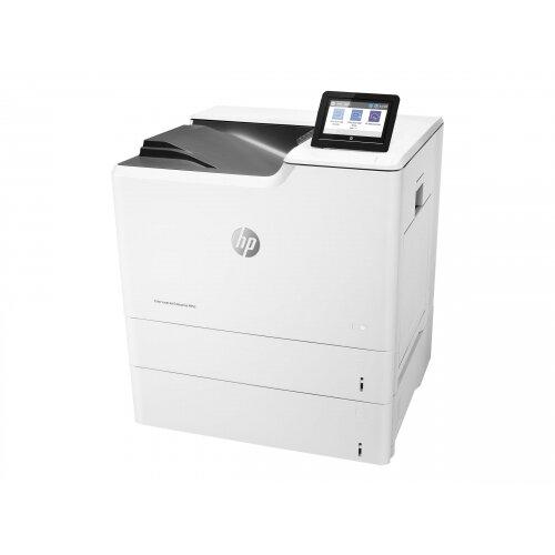 HP Color LaserJet Enterprise M653x - Printer - colour - Duplex - laser - A4/Legal - 1200 x 1200 dpi - up to 56 ppm (mono) / up to 56 ppm (colour) - capacity: 1200 sheets - USB 2.0, Gigabit LAN, Bluetooth, Wi-Fi(n), USB 2.0 host