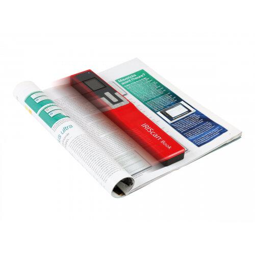 IRIS IRIScan Book 5 - Hand-held scanner - A4 - 1200 dpi - USB