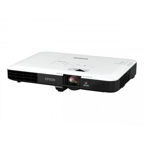 Epson EB-1780W - LCD Multimedia Projector - portable - 3000 lumens (white) - 3000 lumens (colour) - WXGA (1280 x 800) - 16:10 - 720p - 802.11n wireless / NFC / Miracast