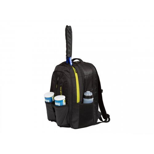 "Targus Work + Play Rackets - Notebook carrying backpack - 15.6"" - black, yellow"