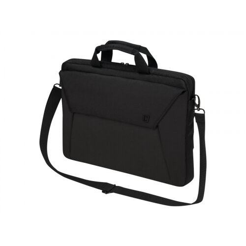 "Dicota Slim Case EDGE - Notebook carrying case - Laptop Bag - 15.6"" - black"