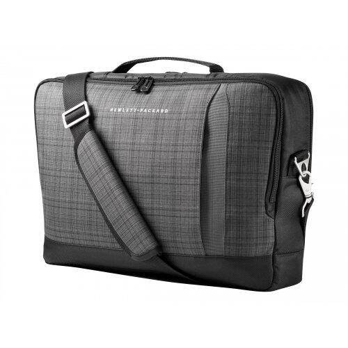 "HP Slim Ultrabook Top Load - Notebook carrying case - Laptop Bag - 15.6"" - grey plaid, black twill - for Chromebook 11; EliteBook 1040 G4; ProBook 650 G4; Stream Pro 11 G4; ZBook 14u G4"