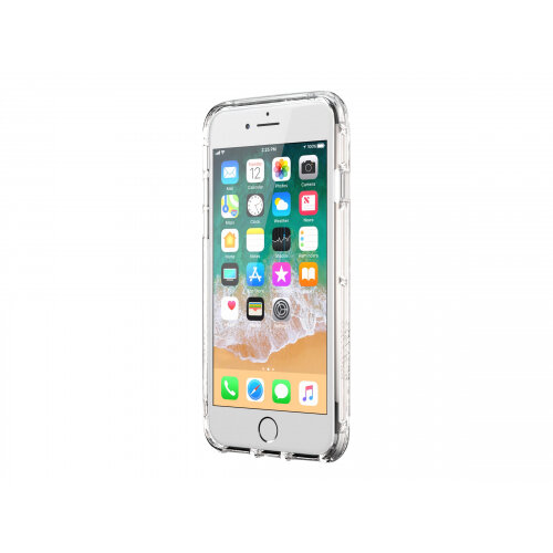 Griffin Survivor Clear - Back cover for mobile phone - polycarbonate, thermoplastic polyurethane - clear - for Apple iPhone 6 Plus, 6s Plus, 7 Plus