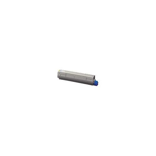 OKI - Yellow - original - toner cartridge - for OKI MC873DN, MC873DNC, MC873DNCT, MC873DNV, MC873DNX
