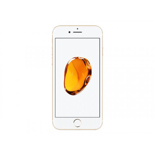 "Apple iPhone 7 - Smartphone - 4G LTE Advanced - 32 GB - GSM - 4.7"" - 1334 x 750 pixels (326 ppi) - Retina HD - 12 MP (7 MP front camera) - gold"