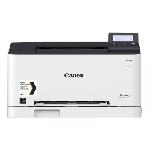 Canon i-SENSYS LBP611Cn - Printer - colour - laser - A4/Legal - 1200 x 1200 dpi - up to 18 ppm (mono) / up to 18 ppm (colour) - capacity: 150 sheets - USB 2.0, Gigabit LAN, USB host