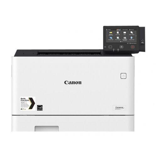 Canon i-SENSYS LBP654Cx - Printer - colour - Duplex - laser - A4/Legal - 1200 x 1200 dpi - up to 27 ppm (mono) / up to 27 ppm (colour) - capacity: 300 sheets - USB 2.0, Gigabit LAN, Wi-Fi(n), USB host, NFC