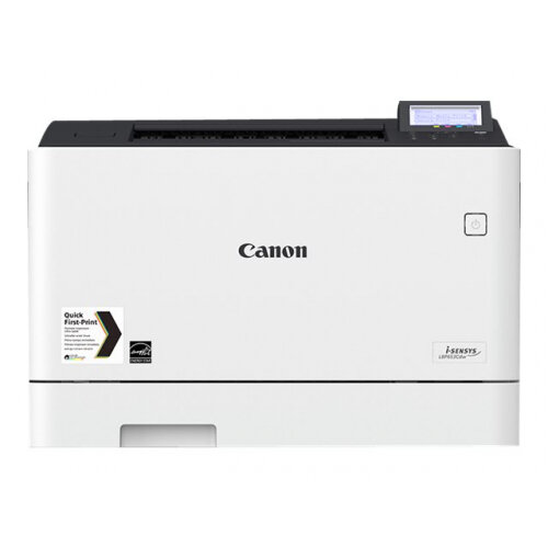 Canon i-SENSYS LBP653Cdw - Printer - colour - Duplex - laser - A4/Legal - 1200 x 1200 dpi - up to 27 ppm (mono) / up to 27 ppm (colour) - capacity: 300 sheets - USB 2.0, Gigabit LAN, Wi-Fi(n), USB host