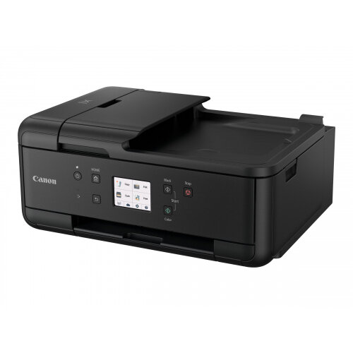 Canon PIXMA TR7550 - Multifunction printer - colour - ink-jet - A4 (210 x 297 mm), Legal (216 x 356 mm) (original) - A4/Legal (media) - up to 15 ipm (printing) - 200 sheets - 33.6 Kbps - USB 2.0, Wi-Fi(n), Bluetooth