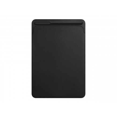 Apple - Protective sleeve for tablet - leather - black - for 10.5-inch iPad Pro