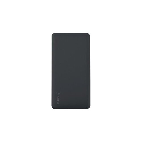 Belkin F7U019btBLK Polymer Pocket Power Bank - Compact and thin design for portability - 5,000 mAh battery - 1 x universal USB port