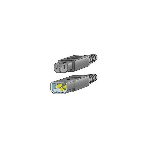Cisco Jumper - Power cable - IEC 60320 C15 to IEC 60320 C14 - 69 cm - for MDS 9020, 9120, 9140, 9216, 9216A, 9216i