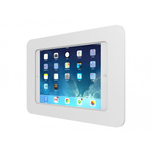 """Compulocks Rokku - iPad 9.7"""" / Galaxy Tab A 9.7"""" / S2 9.7"""" / S3 9.7"""" Wall Mount Enclosure - White - Mounting kit (wall mount) for tablet - aluminium - white - screen size: 9.7"""" - for Apple 9.7-inch iPad Pro; iPad Air; iPad Air 2; Samsung Galaxy Tab A, Tab"""