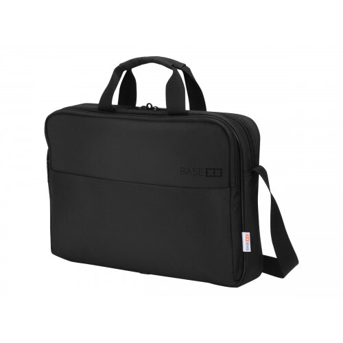 "DICOTA BASE XX TopTraveler Laptop Bag 15.6"" - Notebook carrying case - 15.6"" - black"