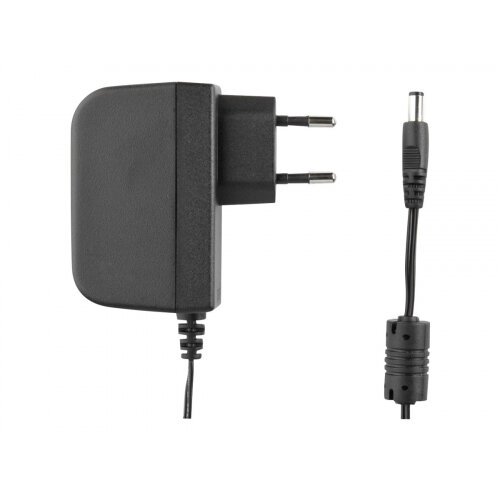 DYMO - Power adapter - AC 240 V - Europe - black - for LabelMANAGER 100, 150, 220, 350, 450, PC2; LabelPOINT 150, 250, 350; Rhino 6000