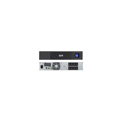 Eaton 5SC 1000 - UPS (rack-mountable) - AC 230 V - 700 Watt - 1000 VA - RS-232, USB - output connectors: 8 - 2U - black