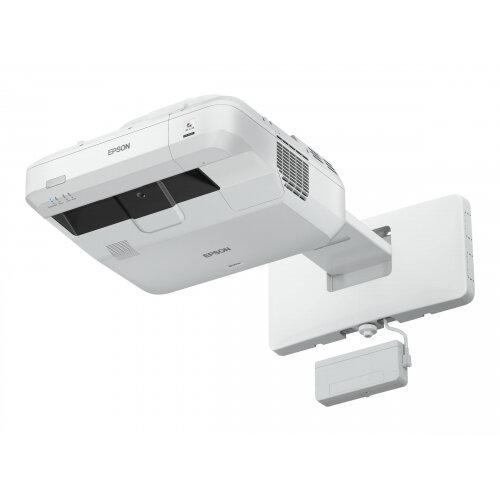 Epson EB-1470Ui - 3LCD Multimedia Projector - 4000 lumens (white) - 4000 lumens (colour) - WUXGA (1920 x 1200) - 16:10 - 1080p - ultra short-throw lens - 802.11b/g/n wireless / LAN / Miracast