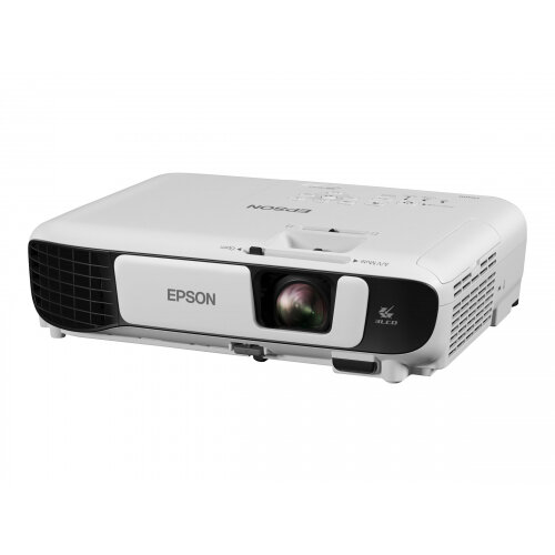 Epson EB-W42 - 3LCD Multimedia Projector - portable - 3600 lumens (white) - 3600 lumens (colour) - WXGA (1280 x 800) - 16:10 - 720p - 802.11n wireless