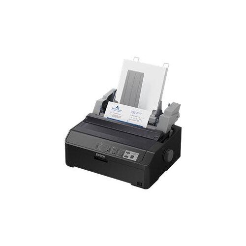 Epson FX 890II - Printer - monochrome - dot-matrix - Roll (21.6 cm), JIS B4, 254 mm (width) - 240 x 144 dpi - 9 pin - up to 738 char/sec - parallel, USB 2.0, LAN