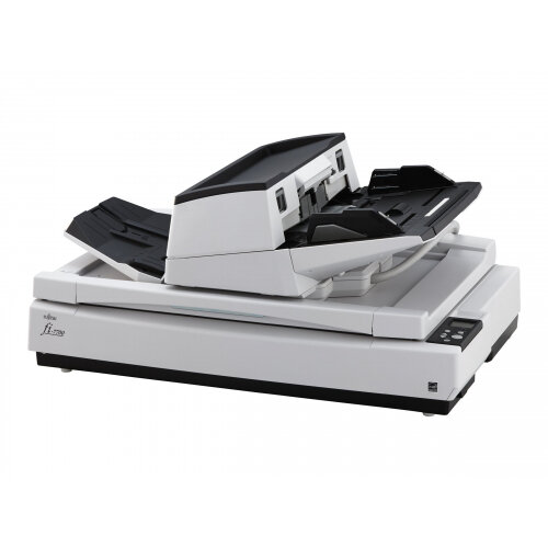 Fujitsu fi-7700 - Document scanner - Duplex - ARCH B - 600 dpi x 600 dpi - up to 100 ppm (mono) / up to 100 ppm (colour) - ADF (300 sheets) - up to 30000 scans per day - USB 3.1 Gen 1