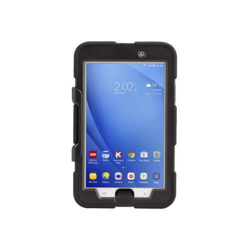 Griffin Survivor All-Terrain - Protective case for tablet - rugged - silicone, polycarbonate - black - for Samsung Galaxy Tab A (7 in)