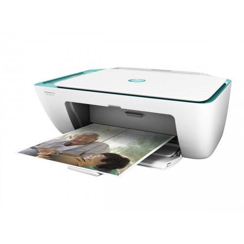 HP Deskjet 2632 All-in-One - Multifunction printer - colour - ink-jet - 216 x 297 mm (original) - A4/Legal (media) - up to 6 ppm (copying) - up to 7.5 ppm (printing) - 60 sheets - USB 2.0, Wi-Fi(n)