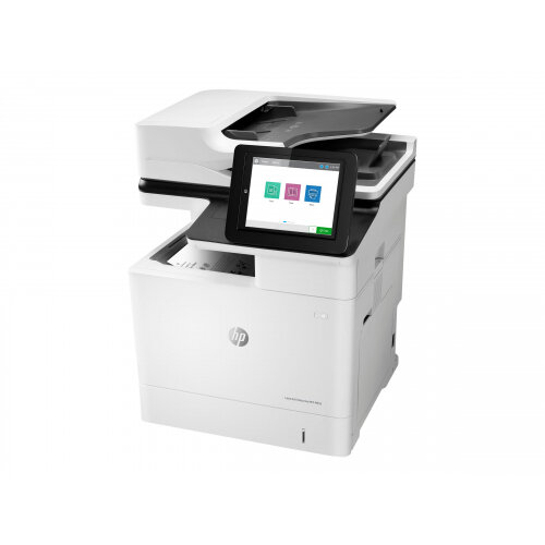 HP LaserJet Enterprise MFP M632h - Multifunction printer - B/W - laser - Legal (216 x 356 mm) (original) - A4/Legal (media) - up to 61 ppm (copying) - up to 61 ppm (printing) - 650 sheets - USB 2.0, Gigabit LAN, USB 2.0 host