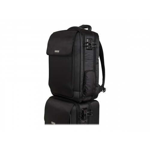 "Kensington SecureTrek Laptop Overnight - Notebook carrying backpack - 17"" - black"