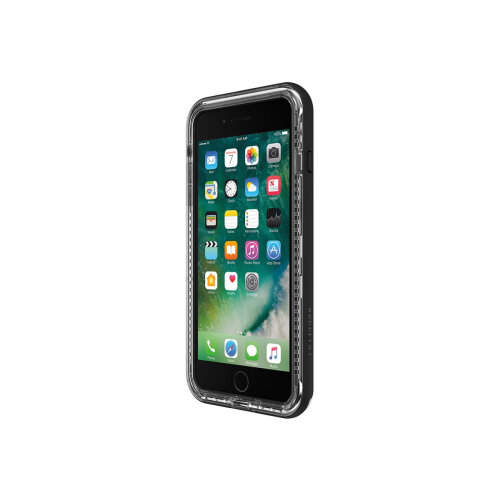 LifeProof NÃ XT Apple iPhone 7 Plus/8 Plus - Back cover for mobile phone - black crystal - for Apple iPhone 7 Plus, 8 Plus