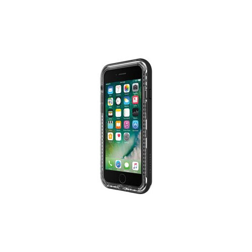 LifeProof NÃ XT Apple iPhone 7/8 - Back cover for mobile phone - black crystal - for Apple iPhone 7, 8