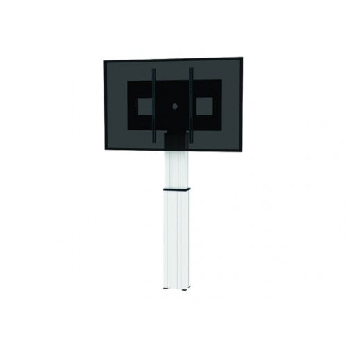 """NewStar Motorized (Height Adjustable) Wall Mount for 42-100"""" Screen, Silver - Wall mount for LCD / plasma panel / media player / mini PC (motorised) - silver, RAL 9006 - screen size: 42""""-100"""""""
