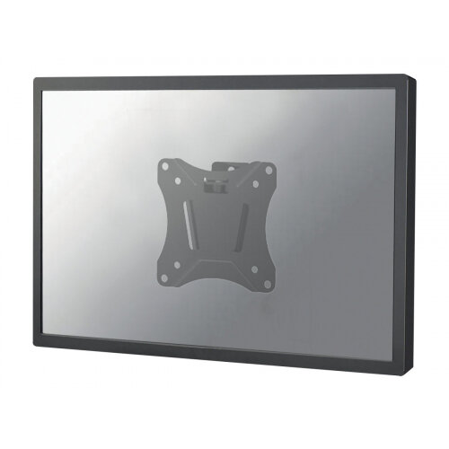 "NewStar NeoMounts TV/Monitor Ultrathin Wall Mount (fixed) for 10""-30"" Screen - Black - Wall mount for LCD display - black - screen size: 10""-30"""